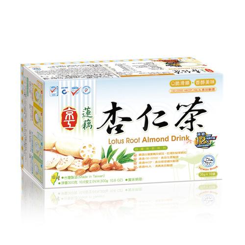 減糖蓮藕杏仁茶(10入) Less sugar Almond Drink