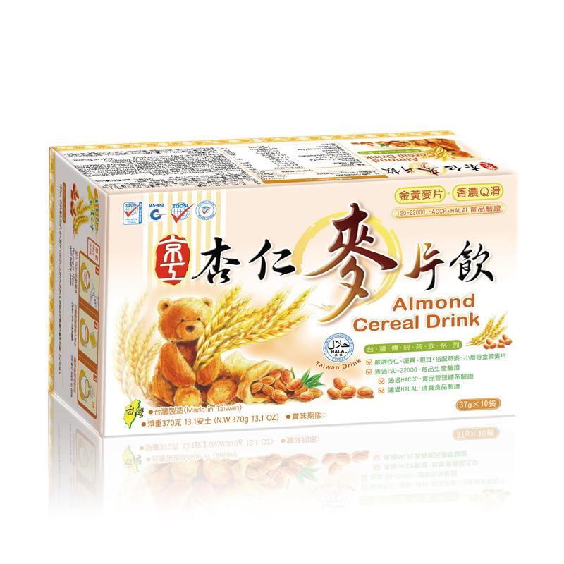 杏仁麥片飲(10入) Almond Cereal Drink