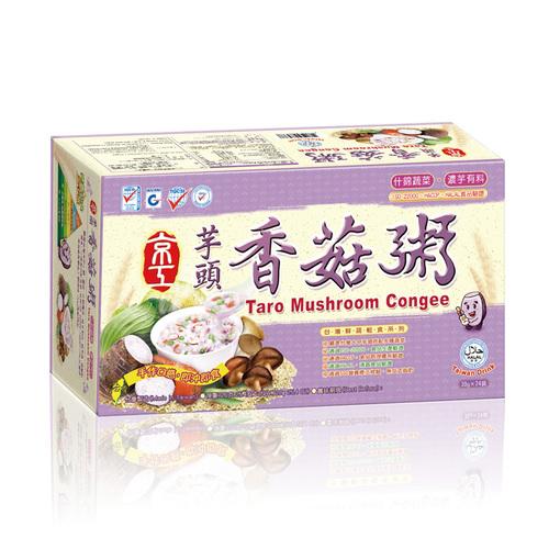 芋頭香菇粥(24入) Taro Mushroom Congee