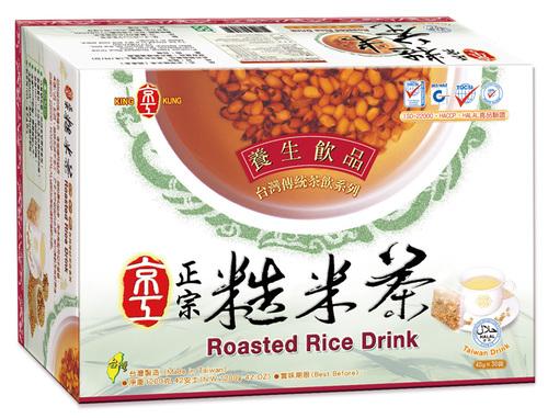 正宗糙米茶(30入)Brown Rice Drink