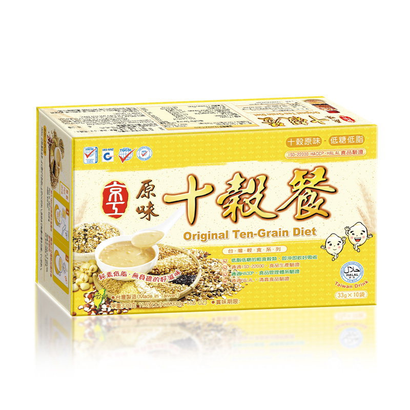 原味十穀餐(10入) Ten-Grain Nutritional Diet