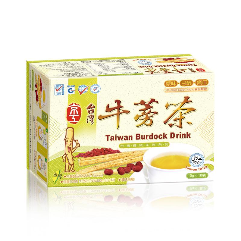 台灣牛蒡茶(10入) Taiwan Burdock Drink
