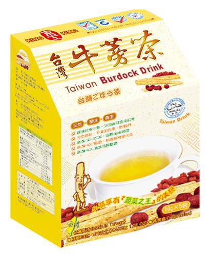 台灣牛蒡茶(5入) Taiwan Burdock Drink