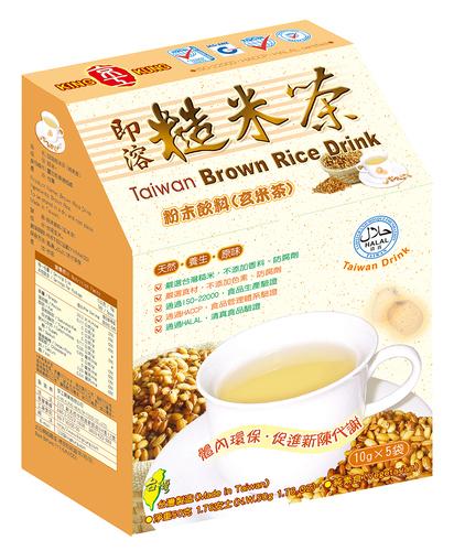即溶糙米茶(5入) Taiwan Brown Rice Drink