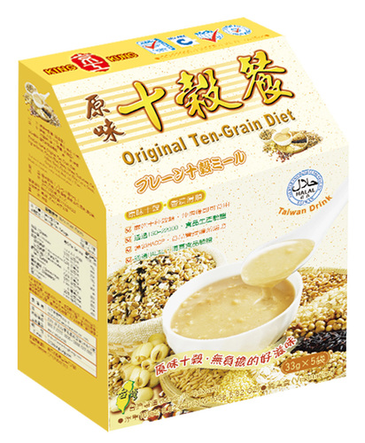 原味十穀餐(5入) Ten-Grain Nutritional Diet