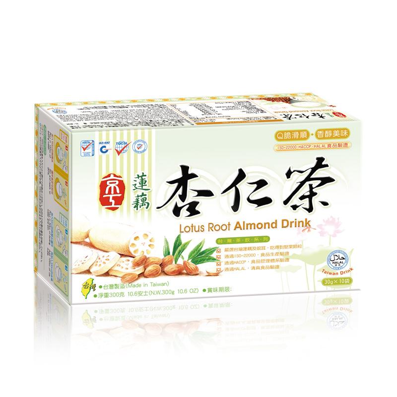 蓮藕杏仁茶(10入) Lotus Root Almond Drink