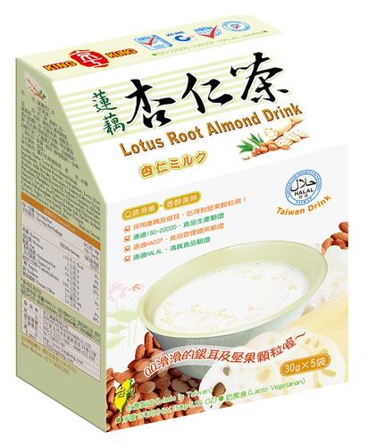 蓮藕杏仁茶(5入) Lotus Root Almond Drink