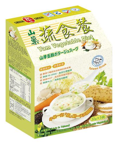 山藥蔬食餐(5入) Yam Nutritional Diet