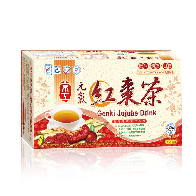 元氣紅棗茶(30入) Genki Jujube Drink